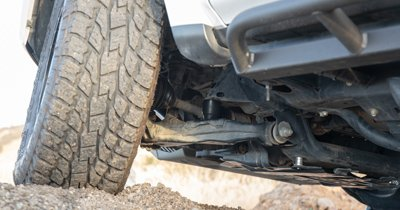 How to Install Front DuroBumps: 2nd / 3rd Gen Tacoma, 4th / 5th Gen 4Runner, FJ Cruiser, Lexus & GX460 / 470: Step 8. Reinstall Wheels